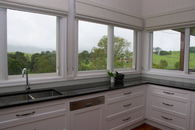 Country Kitchen overlooking land