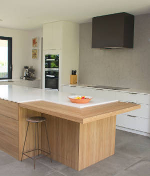 Image of a quality timber kitchen