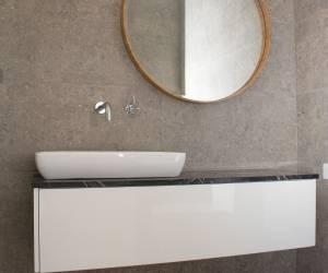 Vanity and mirror