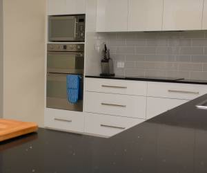 Wall mount oven and microwave